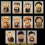Doctor Whoooos set