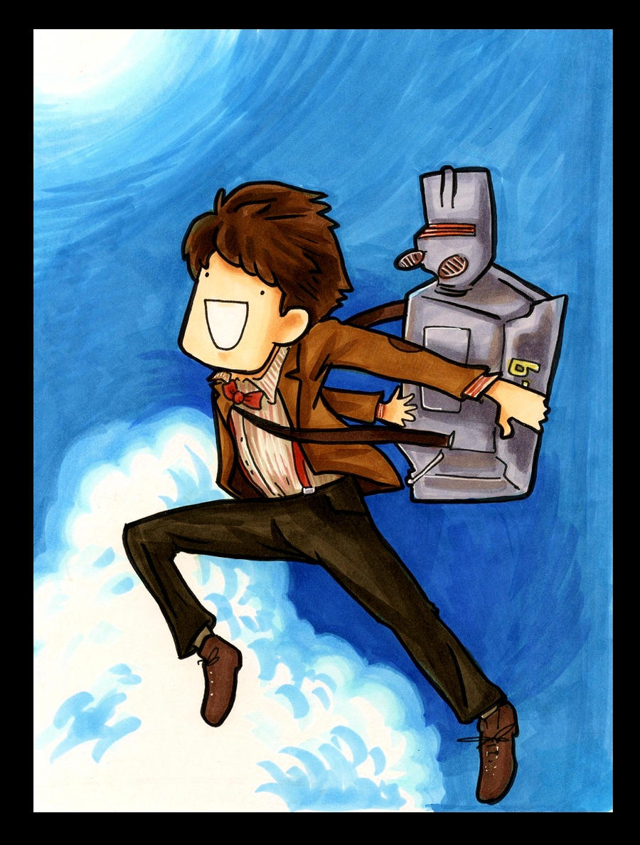 The Doctor Who Leapt Through Time by EatToast