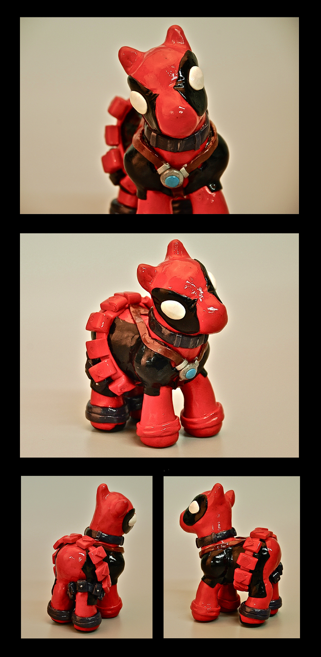 My Little Deadpool by EatToast
