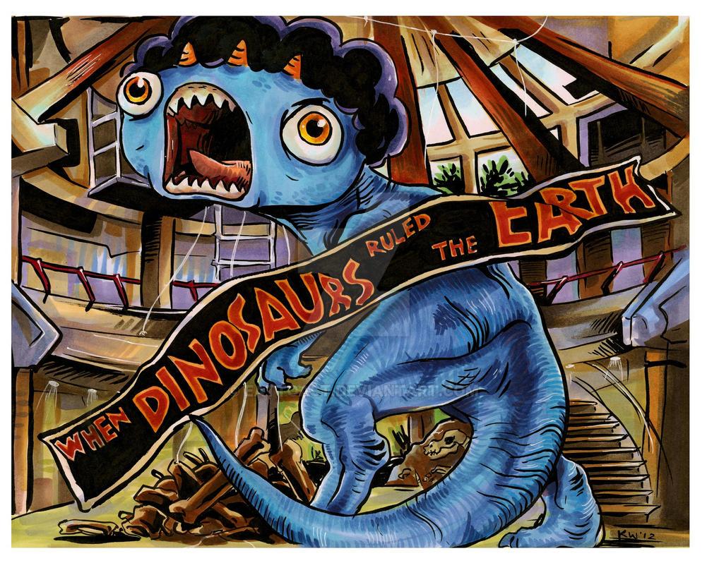 Jurassic Stompadon by EatToast