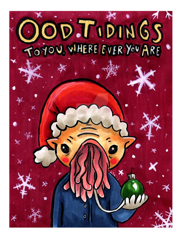 Ood Tidings by EatToast