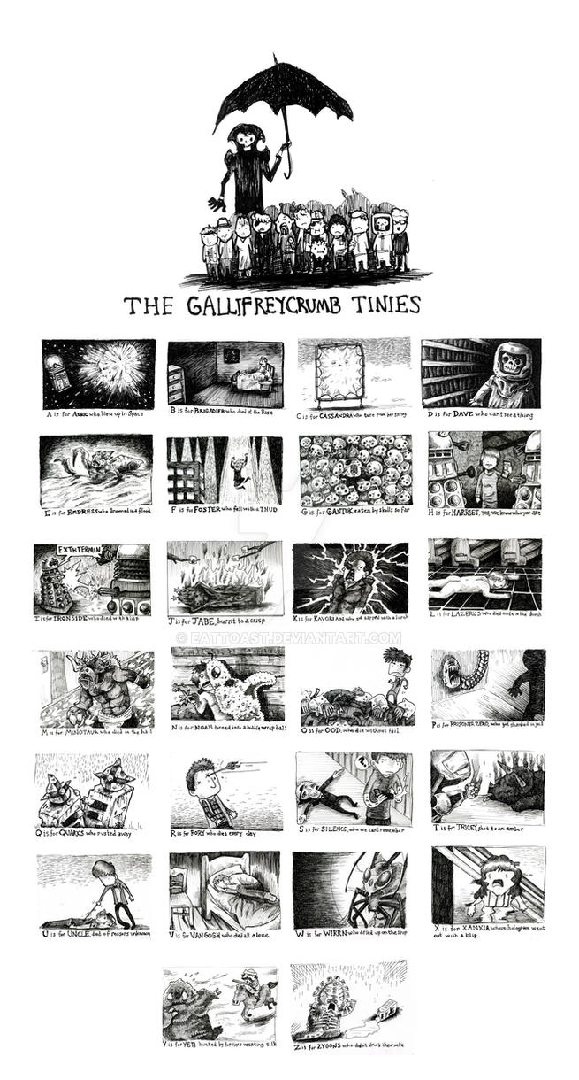 The Gallifreycrumb Tinies by EatToast