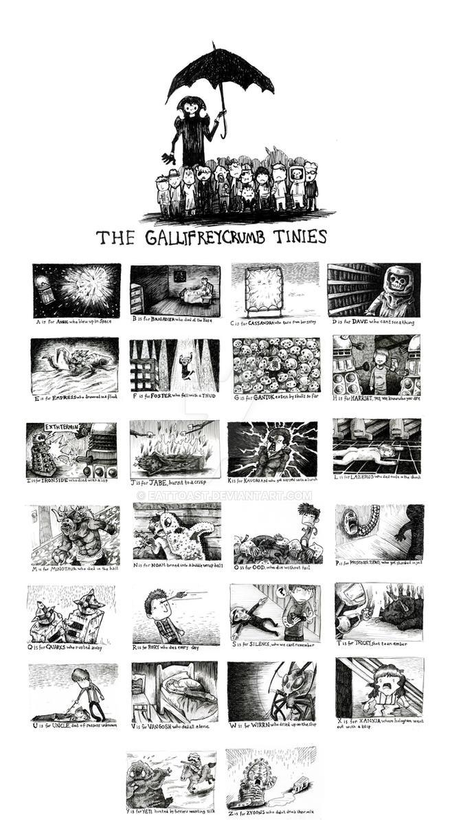The Gallifreycrumb Tinies by EatToast