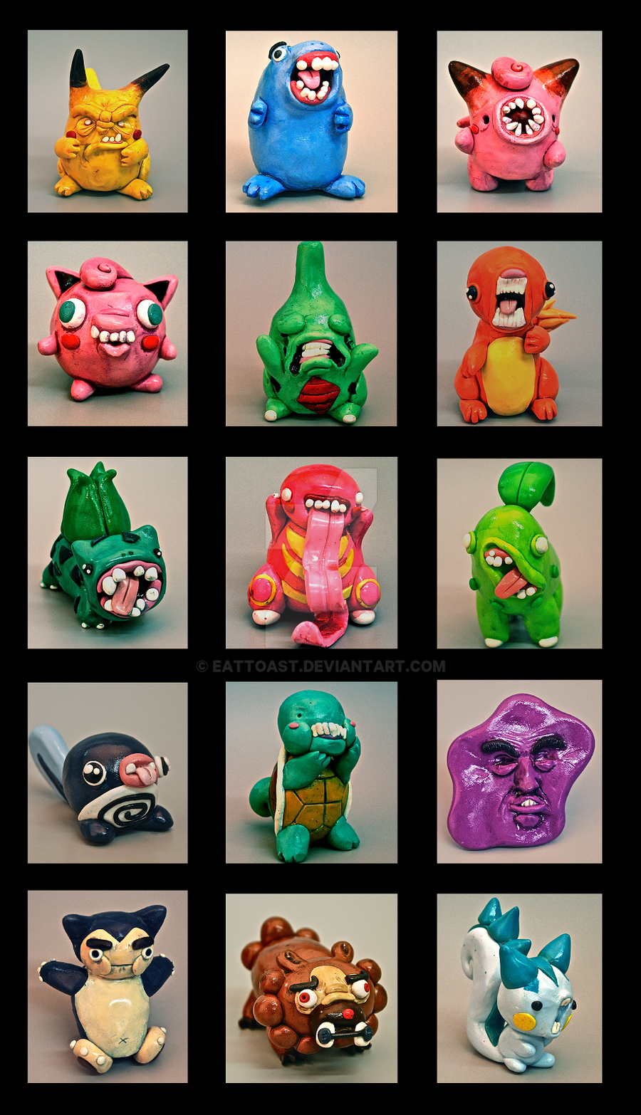 Pokemon Uglies 2012 by EatToast