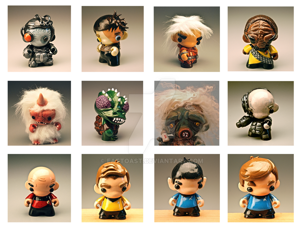 Star Trek Munnys by EatToast