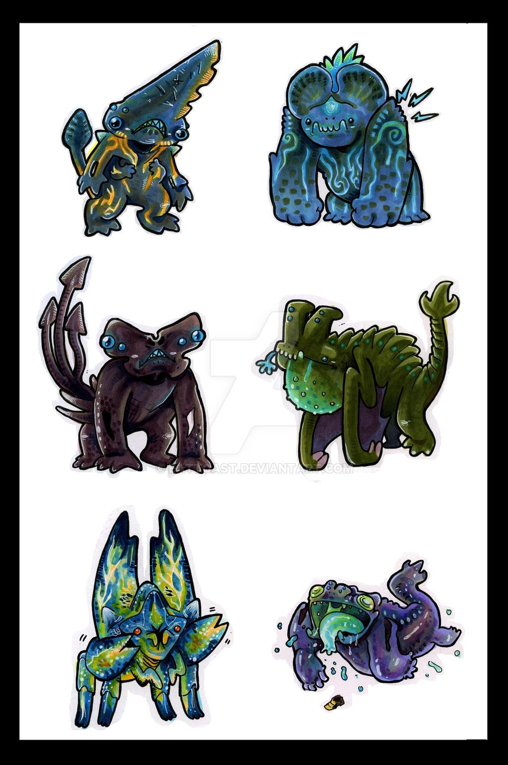 Cutie Kaiju by EatToast