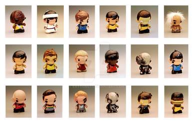 Star Trek Mini Munnys