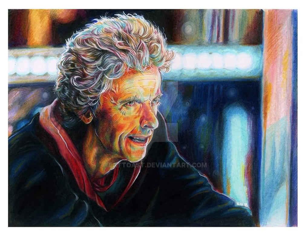 Peter Capaldi Portrait by EatToast