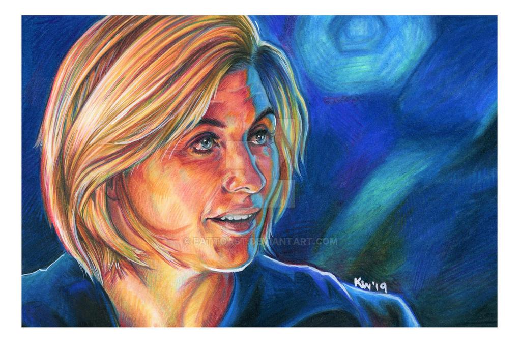Jodie Whittaker Doctor Who Portrait by EatToast
