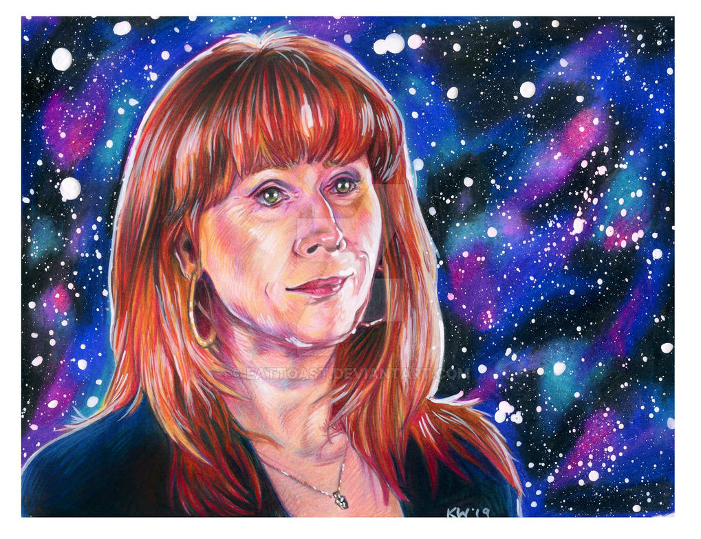 Catherine Tate Donna Noble Portrait by EatToast