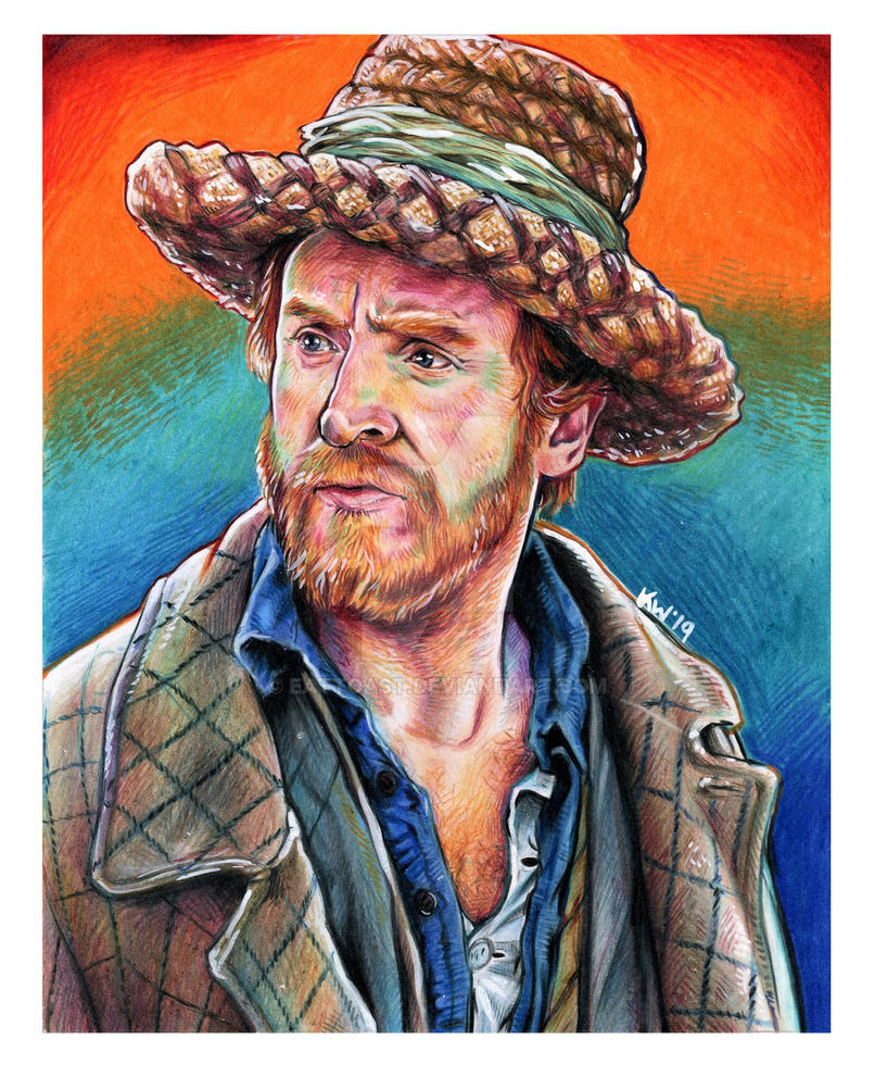 Vincent Van Gogh Doctor Who Portrait by EatToast