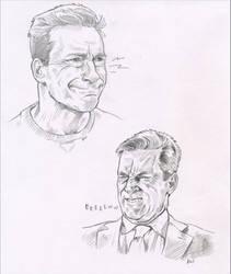 Gabriel pencil sketches