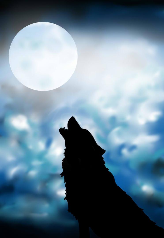 Wolf Silhouette by animallovergemgem on DeviantArt for Silhouette Painting Of Animals  35fsj