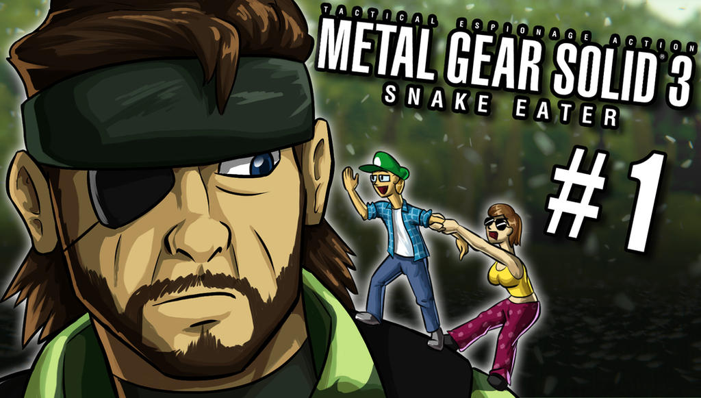 Metal Gear Solid 3 Lets Play Thumbnail by Kuurion