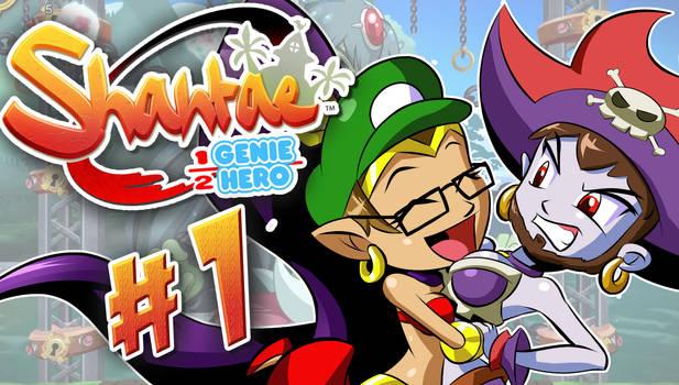 Shantae: 1/2 Genie Hero LetsPlay Thumbnail