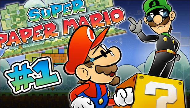 Super Paper Mario LetsPlay Thumbnail