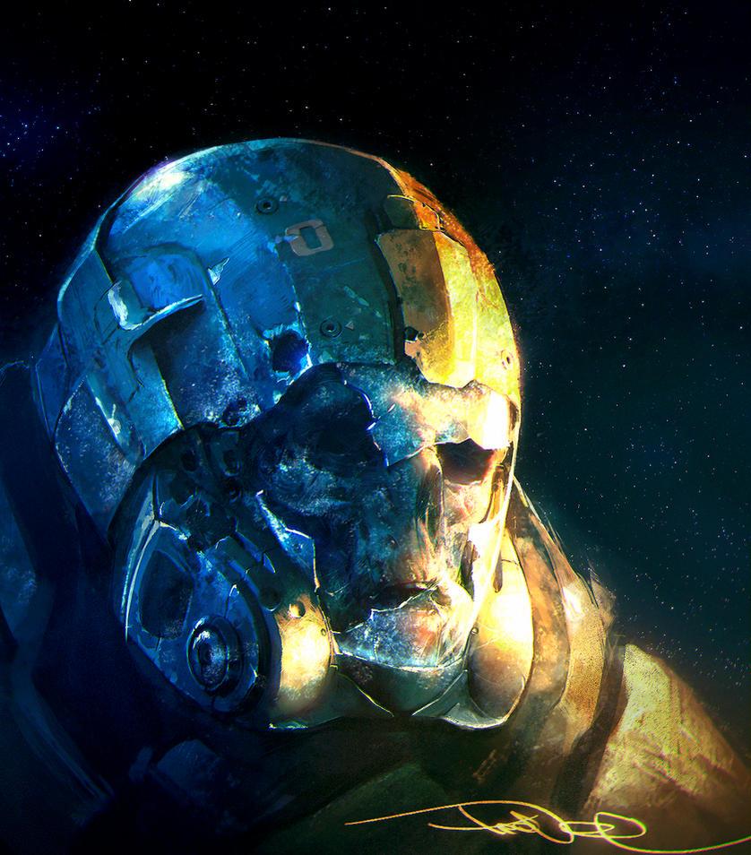 dead space marine by tooDeee