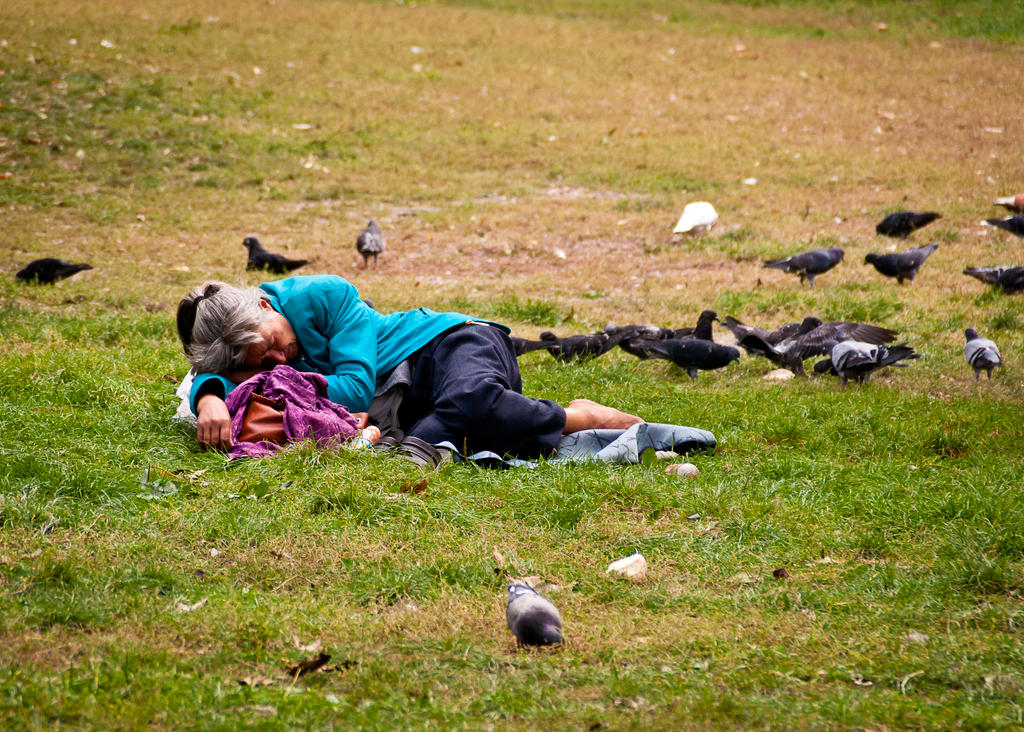 SLEEPING WITH DOVES by marius1956