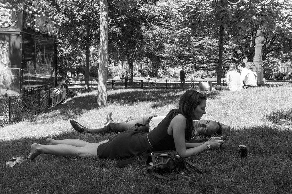 Parc Monceau, Paris,13.00 by marius1956