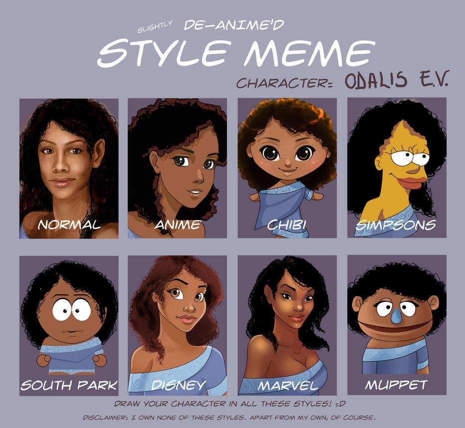 Style Meme - Odalis by madam-marla