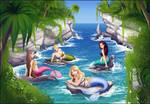Mermaids of Nemaris Island
