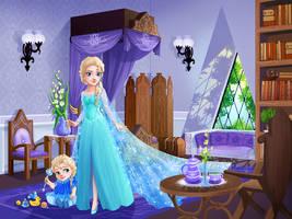 Elsa and Baby Elsa