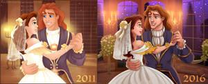 Belle's Wedding - Redraw