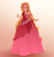 Giselle Designer Gown by madam-marla