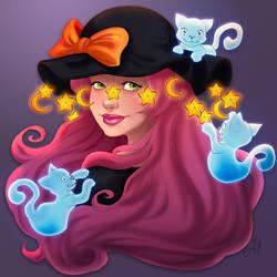 Witch Minerva by madam-marla