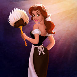Belle Maid Cosplay