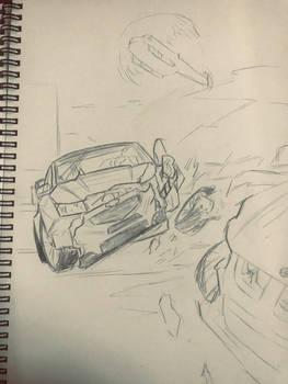 GRID Autosport Cat C Crashed