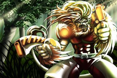 Lion X Game (Main Menu)