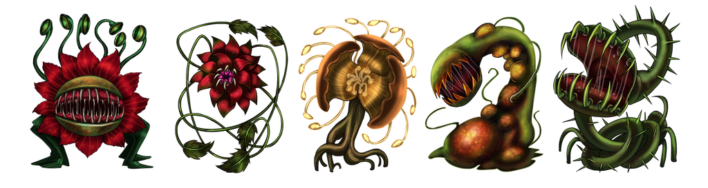 Scavenger Chronicles : Plant monsters