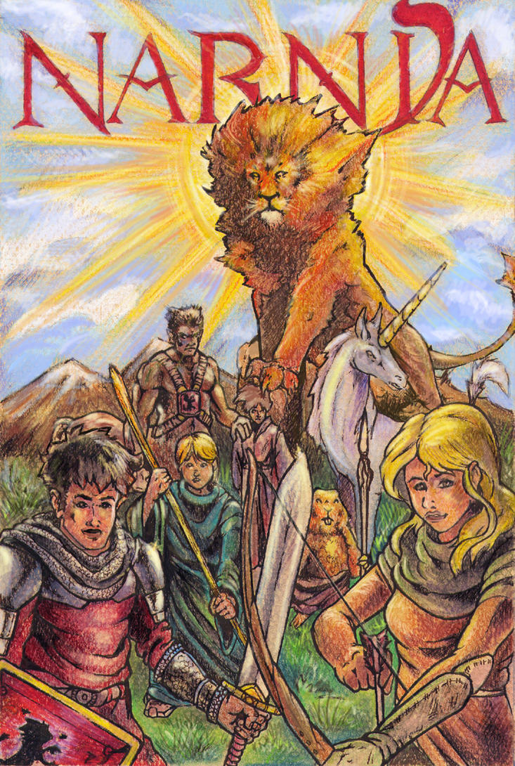 Narnia Book Cover Art : Chronicles of narnia cover by chaos on deviantart