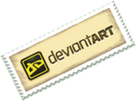 DeviantArt Old Stamp by anyaaequinox