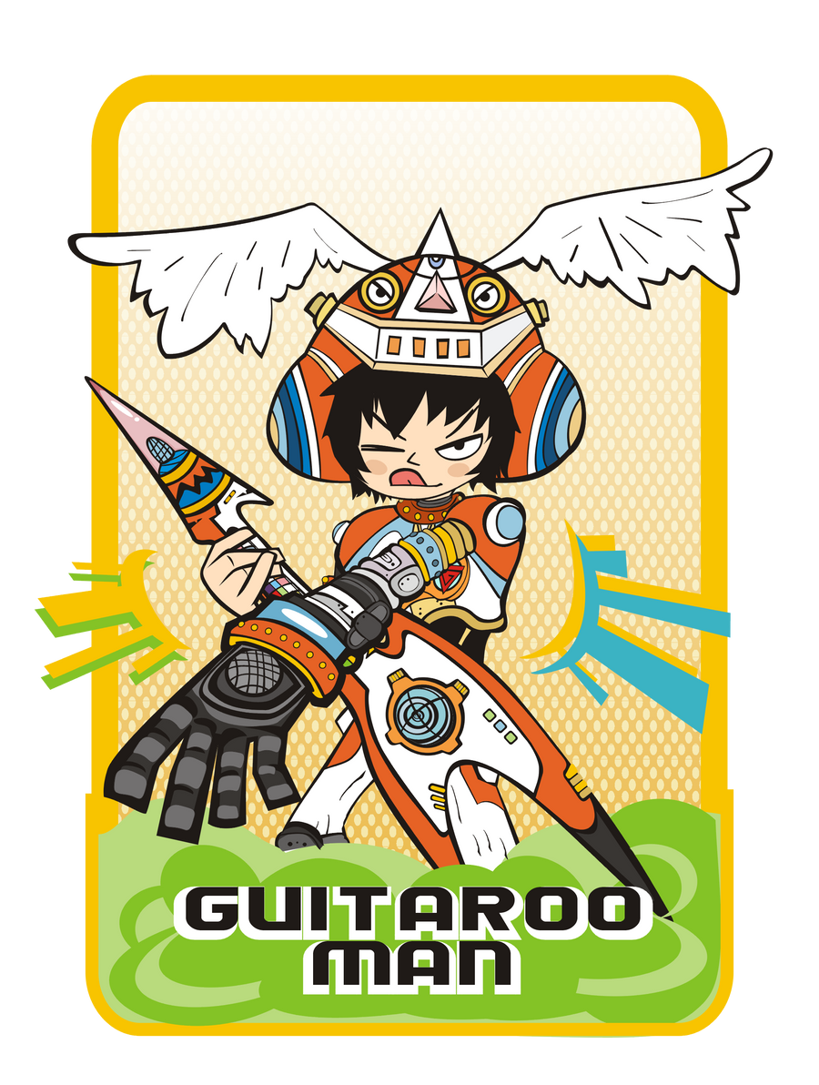 Guitaroo Man lives by Kna