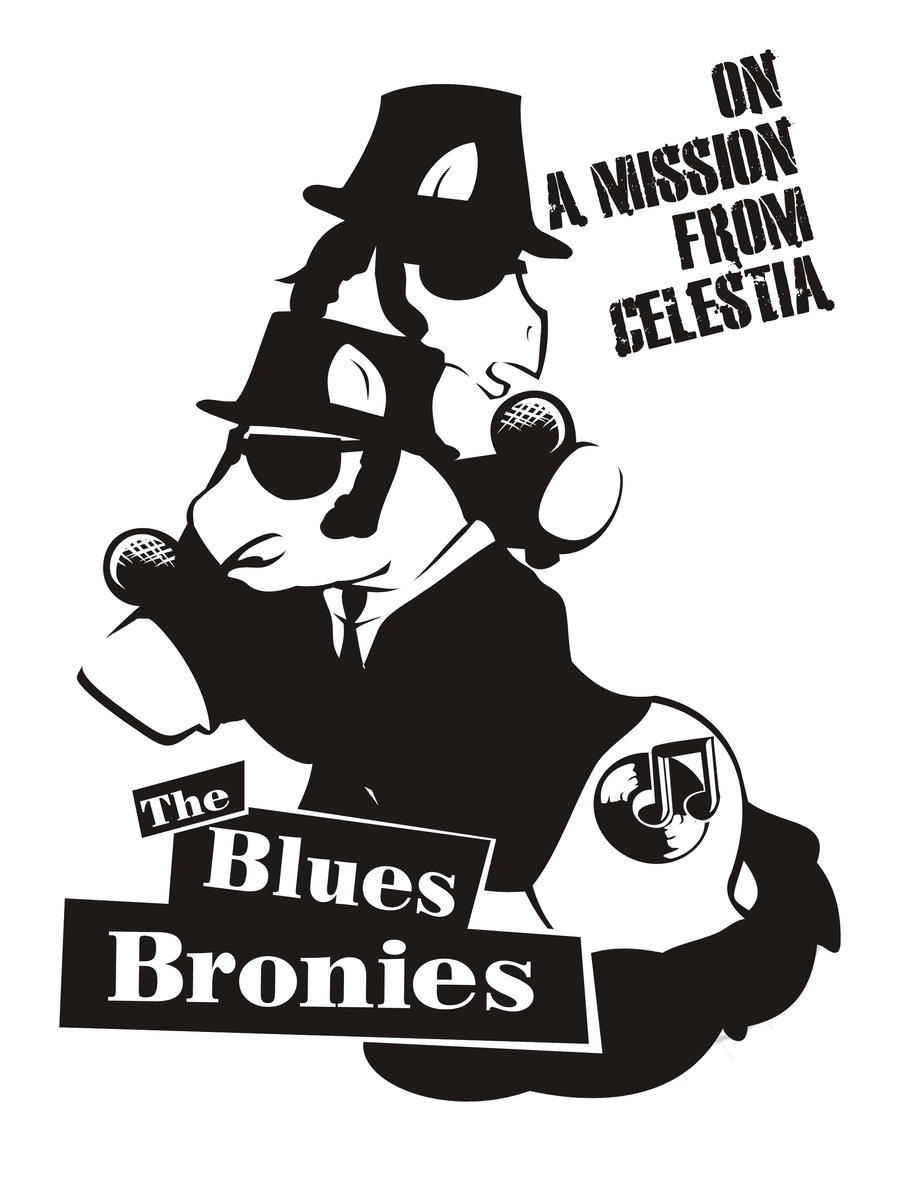 the blues bronies by Kna