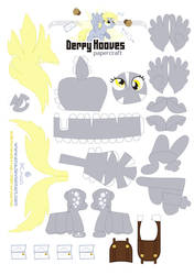 Derpy Papercraft by Kna