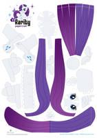 Rarity papercraft by Kna