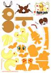 Applejack Papercraft