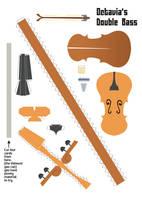 Octavias Cello Papercraft by Kna