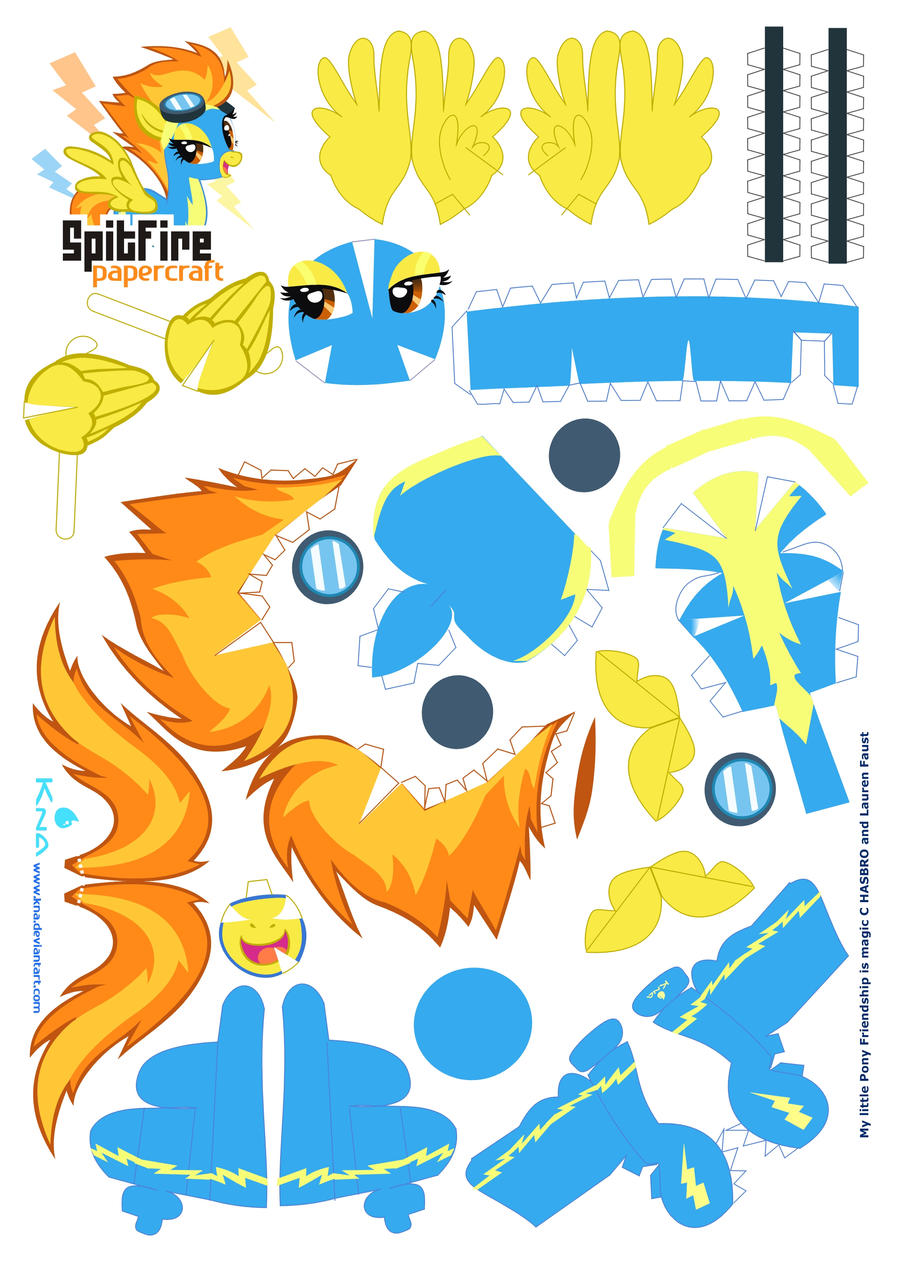 Spitfire normal eyes by Kna