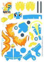 Spitfire Papercraft by Kna