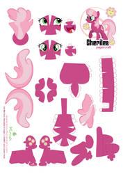 Cheerilee Papercraft pattern by Kna