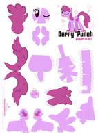Berry Punch Papercraft Pattern by Kna