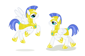 Pegasus Royal Guards by Kna