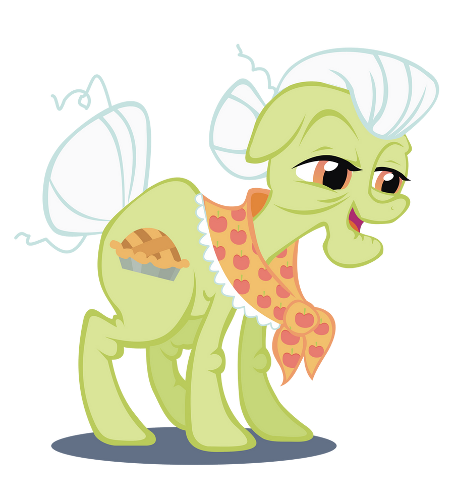 Granny Smith revectorized by Kna