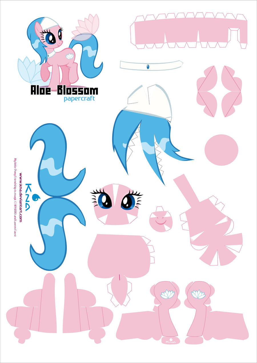 Aloe Blossom Spa Sister pcraft pattern by Kna