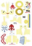 Flim Papercraft Pattern