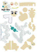 mayor mare Papercraft pattern by Kna